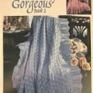 Absolutely Gorgeous Book 2 Afghans Patterns Leisure Arts 2890 Designed by Ann Kirtley 5 Designs