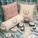 Simple Elegance III Cross Stitch florals Pat Waters pattern leaflet 100