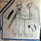 BOY GIRL PARKA OVERALL PANT DAISY KINGDOM SEW & SKI Sewing Pattern