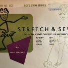 Boys Swim Trunks Sewing Pattern Size 2 4 6 8 10 12 Stretch & Sew 1225