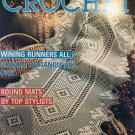 Decorative Crochet Magazine 19 January 1991 Round doily mats Table Runners Thread Crochet