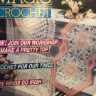 Magic Crochet Magazine 70 February 1991 Thread Crochet Home Decor Doilies Key Rings Top