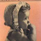 Woolies for Babies, Book No. 245. Red Heart Wools Knit and Crochet leaflet
