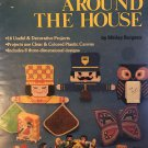 Plastic Canvas Around The House Plaid Enterprises designs by Shirley Burgess