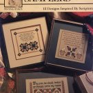 Patchwork Samplers Cross Stitch Pattern Praying Hands 12 Scripture Designs 24013