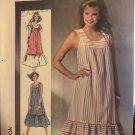 Simplicity 7481 Misses Jiffy Dress CAFTAN Cover Up Sewing Pattern Size XL Bust 44 46