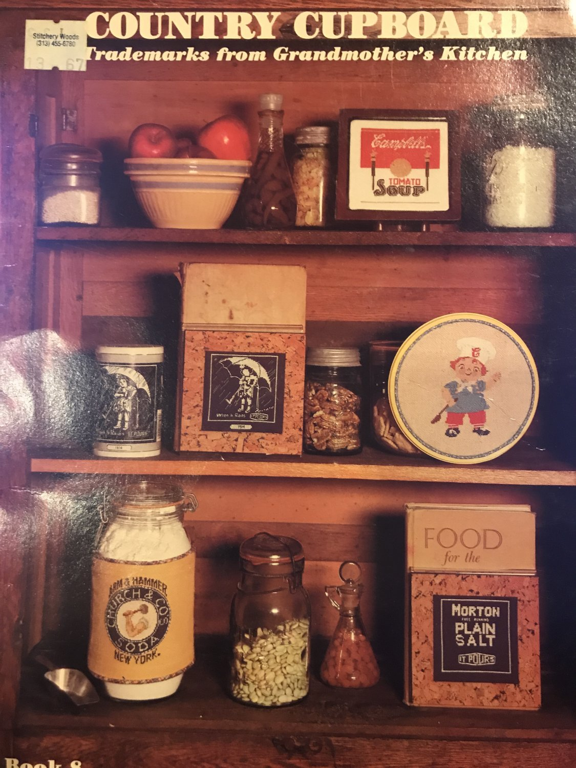 Country Kitchen Trademarks from Grandmother's Kitchen Cross stitch Pattern Book 8