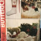 Butterick  244 4524 Christmas Package Stocking, Ornaments & Tree Skirt Sewing Pattern