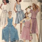 McCall's 3580 Misses' Dress and Tie Belt Sewing Pattern Size 12