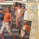 Burda 4564 Misses Summer top, Capris, Skirt, Jeans, Jacket Sewing Pattern Sizes 8 to 18