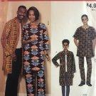 Easy McCalls M9334 Sewing Pattern Coat Caftan Tunic Top Pants S M L Nehru Collar