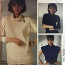 McCall's 2709 P948 Pullover top in two lengths For Stretch Knits Only Sewing Pattern Size 10 12 14