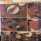 Christmas Club Decorations Tablecloth, Napkins, Placemats SIMPLICITY SEWING PATTERN 9979