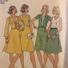 Simplicity 6853 1970s Vintage Sewing Pattern Dress and Unlined Jacket Size 12, Bust 34