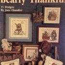 Bearly Thankful Cross Stitch Charts Leisure Arts 2333