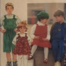 Simplicity 7960 Child's Jumper and Overalls in 2 lengths Sewing Pattern  Size 5 6X