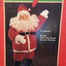 "Santa Claus Crochet Doll Fibre Craft FCM143 Use 4 1/2"" Santa Doll head, worsted yarn"