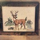White Tail Deer Cross Stitch Pattern Needle Nook Designs  Leaflet 8
