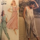 Simplicity 7177 Misses'/Miss Petite Jumpsuit in Two Lengths and Jumper Sewing Pattern Size 8 - 14