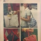 Simplicity 7004 Set of Bags sewing pattern 4 designs