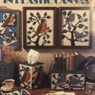 Robins and Bluebirds in Plastic Canvas Pattern by Joan E. Ray Leisure Arts 1089