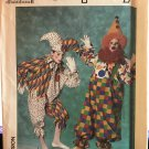 Simplicity 9345 Sewing Pattern for Clown Costumes & Hats for Children's Child's size Small 2-4