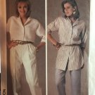 Simplicity 6947 Misses Easy-To-Sew Shirt and Pants in Two Lengths Sewing Pattern 10 - 14