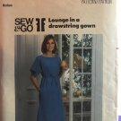 Butterick 5166 Misses' Loungewear. Loose-fitting gown Muu Muu Sewing Pattern Size Med