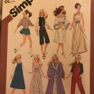 """Simplicity 5637 Wardrobe for 11 1/2"""" Dolls Such as Barbie and Brooke Shields Sewing Pattern"""