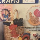 McCall's 8505 Chicken Kitchen centerpiece, wall hanging & message magnets Sewing Pattern