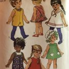 """Simplicity 8561 Doll Dress Sewing pattern 16"""" Tumbling Tomboy, Tippy Tumbles, 18"""" Giggles"""
