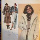 Simplicity 9754 Misses Fur Fabric Coat in Three Lengths Sewing Pattern Size 16 Bust 38