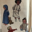 Simplicity 8326 Toddler's Robe in Two Lengths and Sleeper Sewing Pattern Size