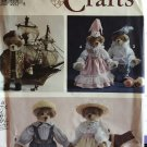 Simplicity 7711 Teddy Bear and Renaissance Clothes sewing Pattern