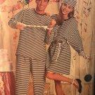 "Butterick 4970 Jailbird Costume Sewing Pattern Size XSm - Lg 30"" to 44"" Chest"