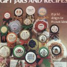 Leisure Arts leaflet 374 Gift Jars and Recipes counted cross stitch pattern