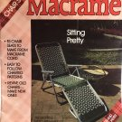 Sitting Pretty Plaid Book 8058 Macrame Lawn Chair Pattern