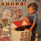 Lift Top Storage Shops Platic Canvas Toy Box Annie's Attic 87S30