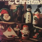 Crochet for Christmas Leisure Arts Pattern Booklet 81 stocking snowflakes Santa