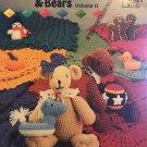 Birthday Blankets & Bears Annies Attic 87B69 Crochet Pattern Volume II July to December