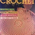 Decorative Crochet Magazine No. 12 November 1989 Home Decor Featuring Mats, Tablecloth, Bedspread