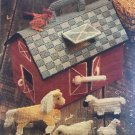 Little Red Barn Set with Animals in Plastic Canvas Toy Pattern Annies Attic