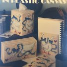 Take a Gandar Plastic Canvas Leisure Arts 1169 Tissue Covers, Coasters & More