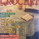 Decorative Crochet Magazine No. 9, May 1989 Home Decor Pot Holders Placemats Doilies Curtains