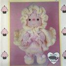 Pink Lemonade Crochet doll pattern Cupcake Corner Dumplin Designs UP9