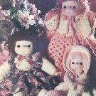 Crochet Confections Soft Sculpture Dolls to Crochet Pattern MM981