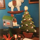 Holiday Centerpieces Window Hangings in Plastic Canvas Pattern Mangelsen's 01911