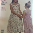 McCall's 2168 Girl's Sundress and Jumper Sewing Pattern Size 7 8 10 12 14