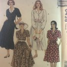 McCall's 6438 Misses' Shirt Dress in Two Lengths Sewing Pattern Size 12 14 16