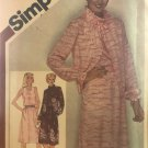 Simplicity 9945 Misses' Dress with cut-in armholes and unlined Jacket Sewing Pattern size 10